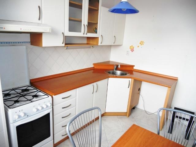 Kuchyň pohled od okna