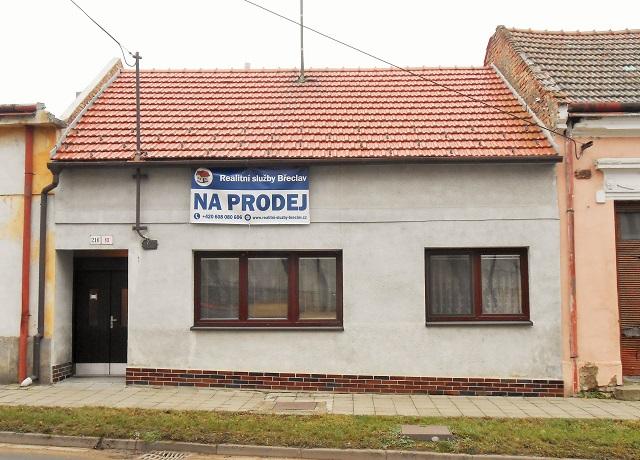 Rodinný dům 2+1, Podivín, Komenského
