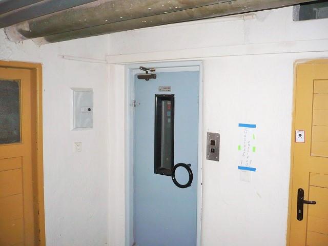 Výtah, sklepní prostory