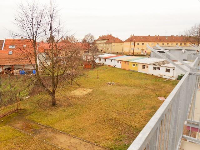 Výhled z balkonu vpravo