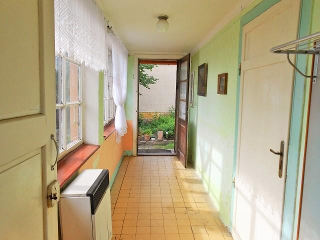 Veranda, pohled ke vchodu