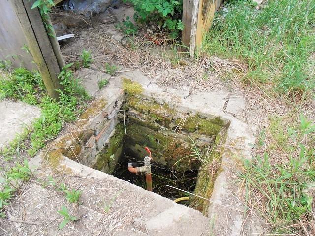 Studna srozvody vody