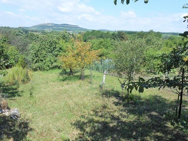 Výhled naPálavu zleva zhora