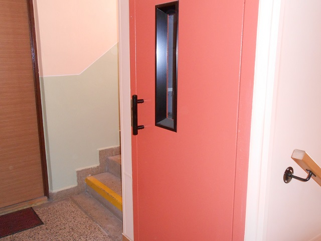 Chodba domu, výtah