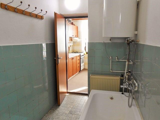 Koupelna, pohled ke vstupu