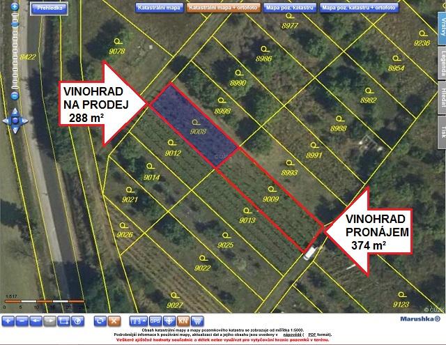 Ortofoto mapa zKN