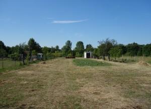 Prodej zahrady cca 500 m², Břeclav, Uletiště