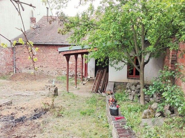 Přístavba, pohled od zahrady