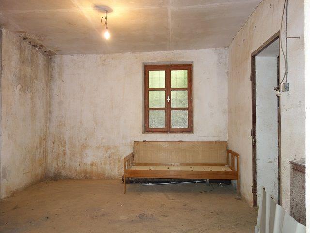 Zadní místnost, pohled od vstupu