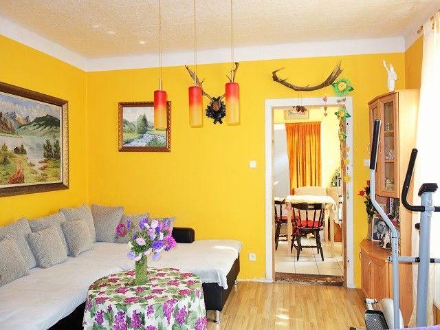 Obývací pokoj, zadní část