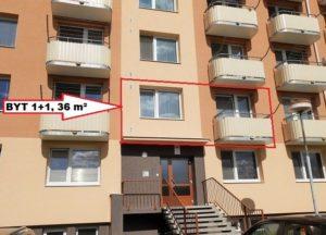 Prodej bytu 1+1 36 m² vOV, Břeclav, Usplavu