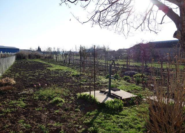 Zahrada, pravá přední část