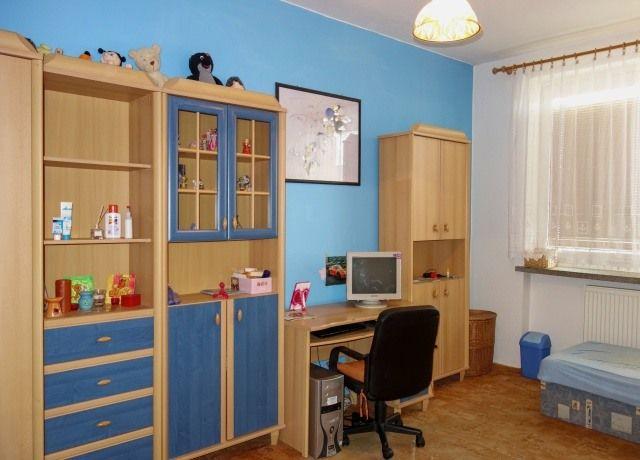 Dětský pokoj, pohled od vstupu
