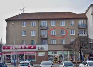 Pronájem bytu 1+1 37 m², Břeclav, Národního odboje