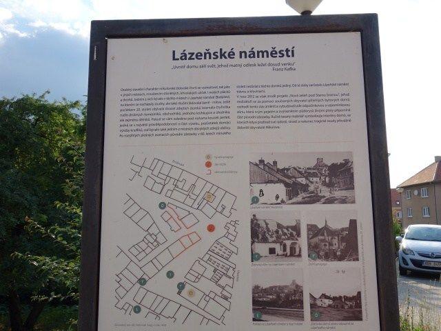 Informace oLázeňském náměstí