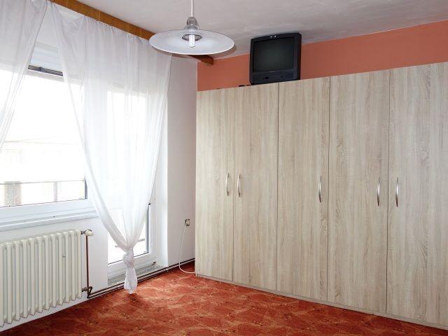 4. pokoj, vstup nabalkon