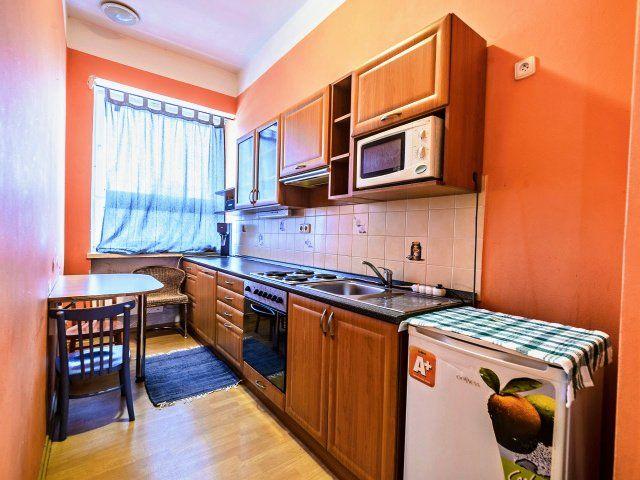 Kuchyně, pohled koknu