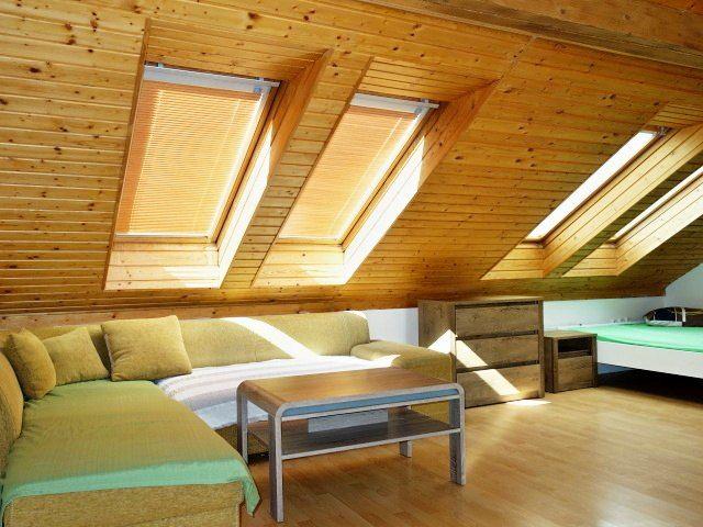 Obývací pokoj, pohled zkk