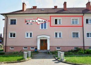 Prodej bytu 3+1 72 m², Lužice, Havířská 587/8