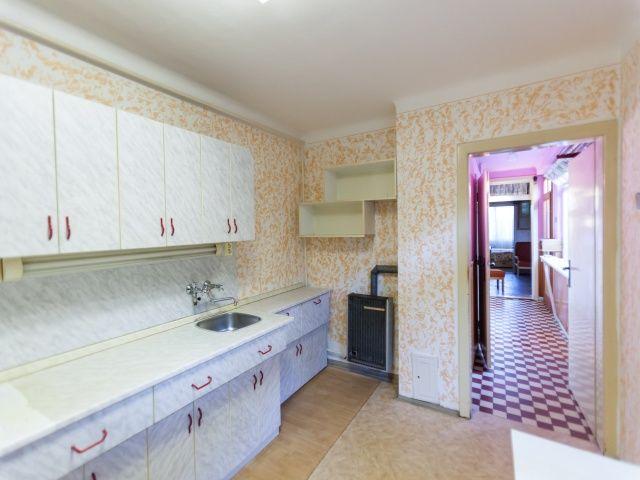 Kuchyň, pohled kchodbě