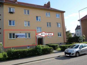 Pronájem bytu 2+1, 64 m², Břeclav, Herbenova