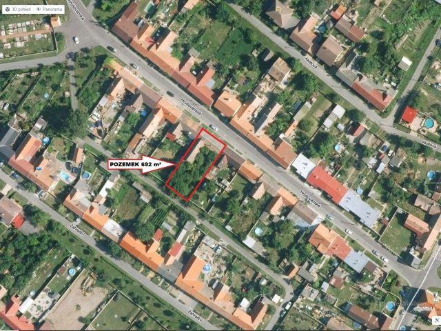 Prodej pozemku 692 m², Jevišovka