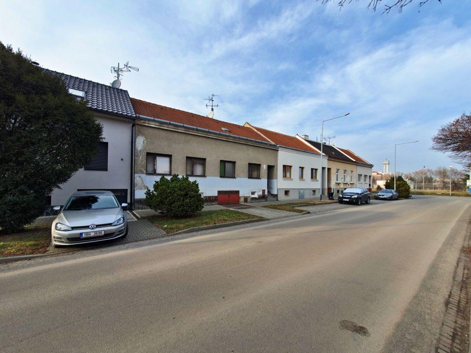 Dům, pohled zleva