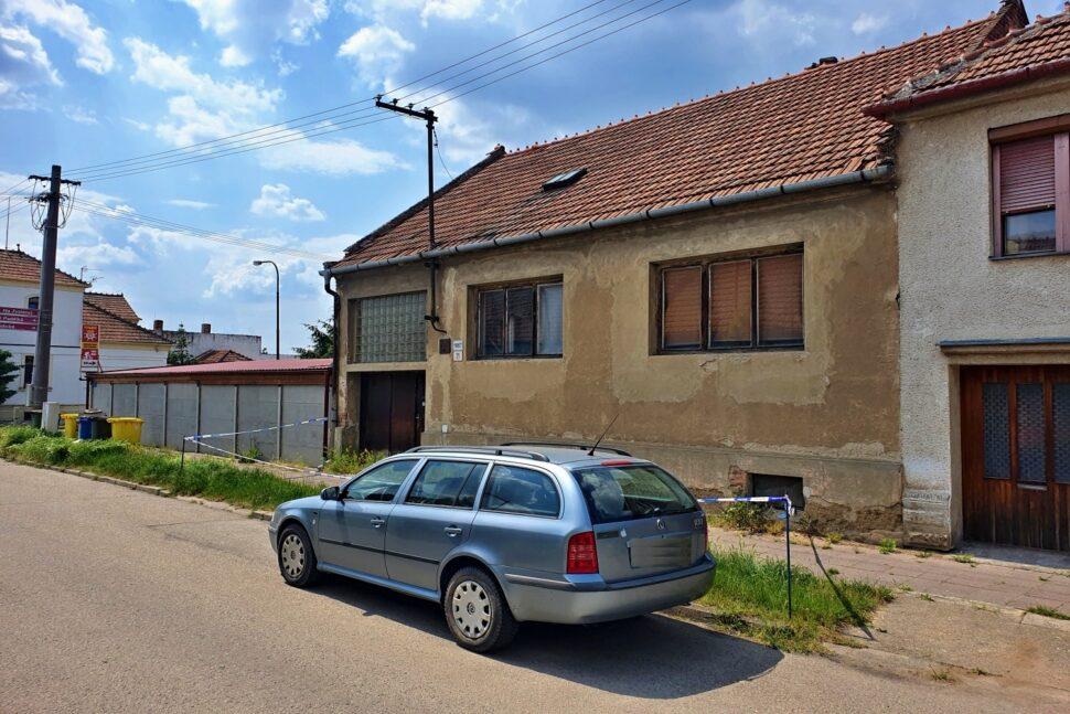 Dům, pohled zprava
