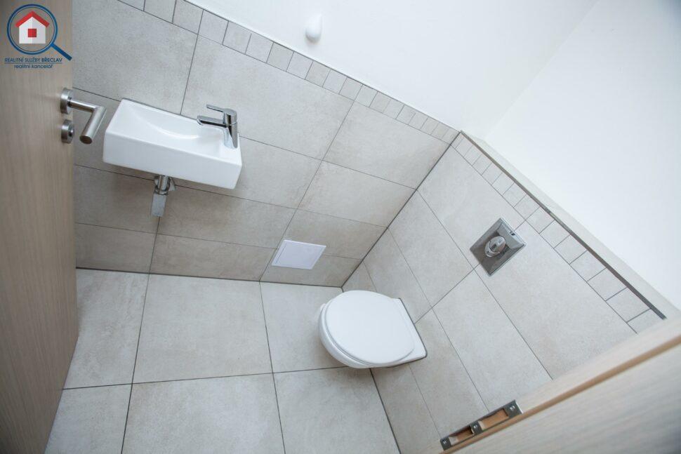 WC, pohled shora